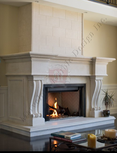 Fireplace Mantels For Christmas