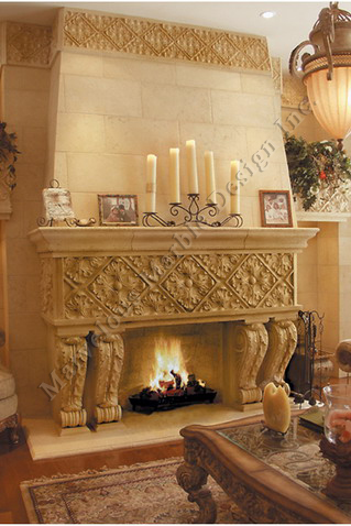 Italian Fireplace Mantel In New York And Chicago