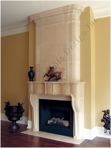 Marble Mantel Limestone Mantel Antique Mantel