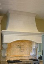 JULIA Cast Limestone Hood Design