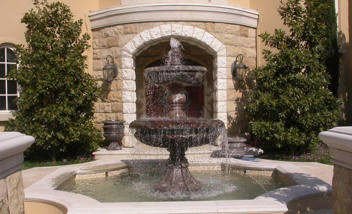 Limestone And Marble Fountain California