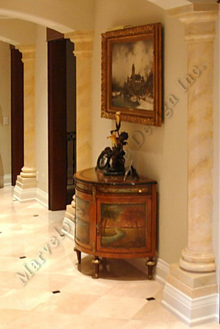 Marble Pilaster