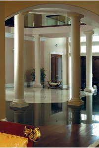 French Limestone Doric Columns