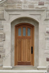 Indiana Limestone Door Surround