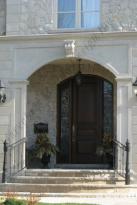 Indiana Limestone Entrance