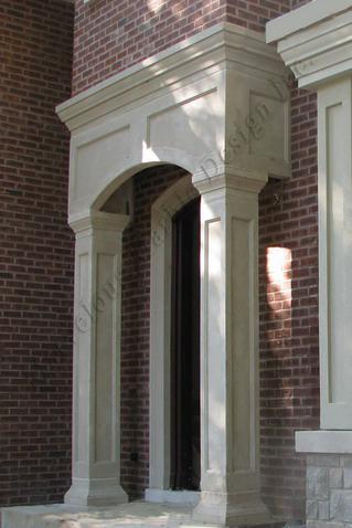 Indiana Limestone Square Columns