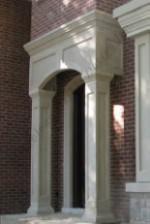 The Exquisite Portico Indiana Limestone Square Columns