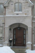 The Exquisite Portico Indiana Limestone Square Columns