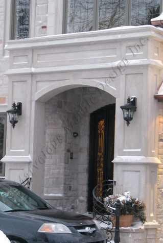 indiana Limestone entrance