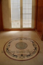 Round Marble Medallions