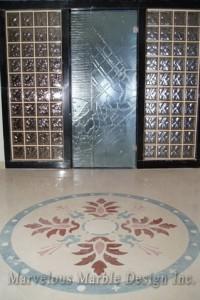 Marble flooring Medallion
