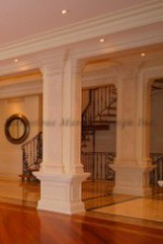 Interior Luxury With Limestone Pilaster and Column