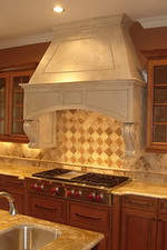 BATTISTA Cast Stone Hood
