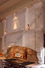 Stone Hoods in High Ceiling