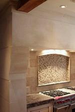 COLETTE Custom Limestone Range Hood