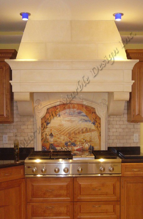 Small Marble Kitchen