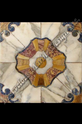 marble floor inserts