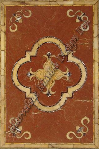 marble floor design for luxury foyer