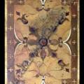 custom limestone floor design