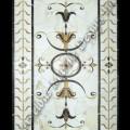 rectangular marble medallions