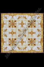 VITTORIA water jet cut spanish marble flooring design