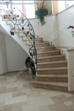 French Limestone Stairs