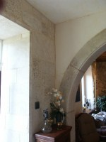 French Limestone Door Surround
