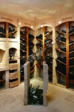 French Limestone Wine Cellar Racking