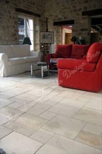 french pattern limestone tiles