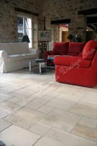french pattern limestone tiles