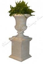 French Limestone Planter