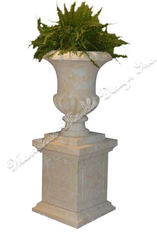 French Limestone Planter