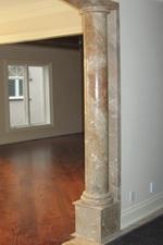 Custom Italian Marble doric Columns