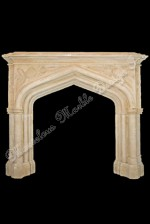 French limestone mantels