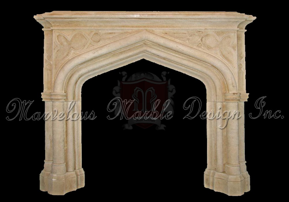 Gothic mantel manner