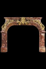 Antique 316 Italian Marble Mantel