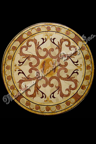 marble medallions marble floor inserts vicenza medallion. Black Bedroom Furniture Sets. Home Design Ideas