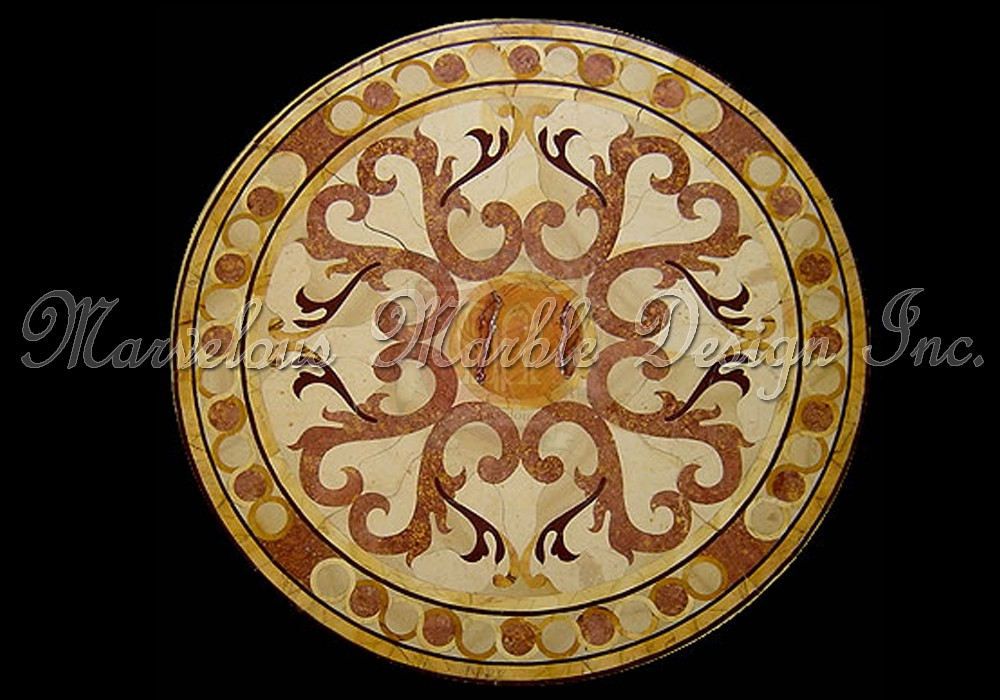 Marble Medallions Marble Floor Inserts Vicenza Medallion