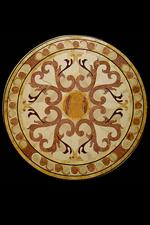 VICENZA Antique floor marble medallions designs