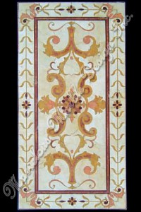 marble floor medallion designs
