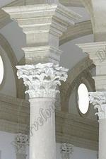 FANTASIA Corinthian White Marble Columns
