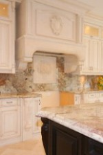 GENOVA Stone Range Hood In 10 ft Ceiling