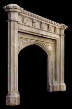 Gothic Limestone Mantels