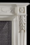 Antique 304  Louis XVI Marble French Fireplace Mantel
