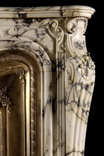 Antique 306 Marble Mantel