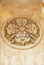5ft round Marble Floor Medallion