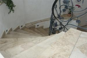 French Limestone Wine Cellar Racking