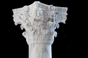 Custom Design marble Column Corinthian Capital