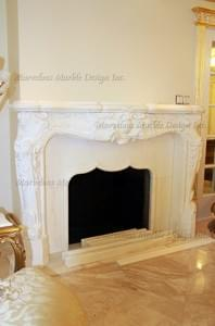 Louis Marble Mantel