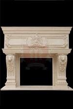 Limestone Mantel New York Marvelous Marble
